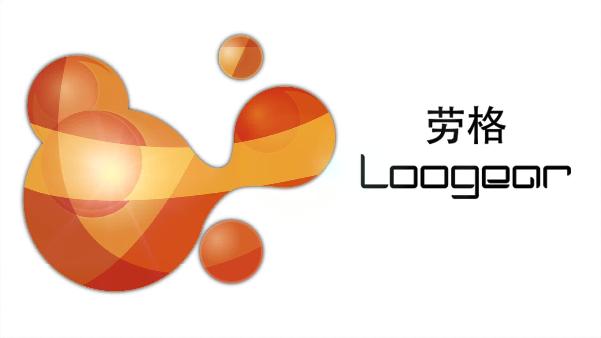 劳格科技Logo视频